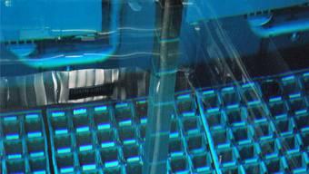 Brennelemente werden im AKW immer unter Wasser ausgetauscht. ensi