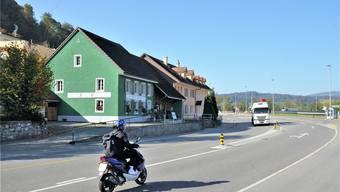 Die Hauptstrasse H5 in der Wöschnau: Hier gilt Tempo 60.