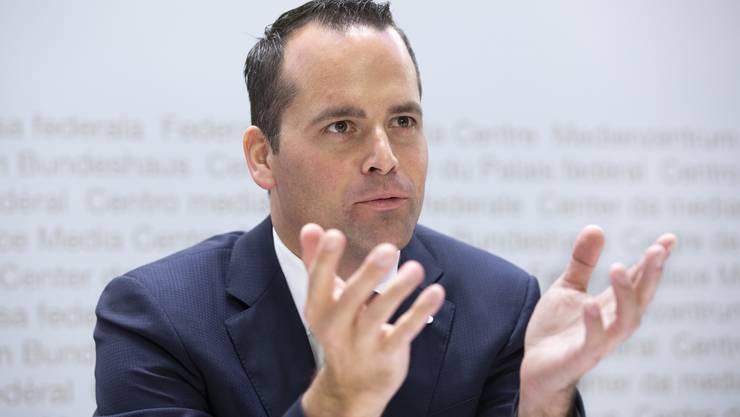 Ständerat Damian Müller (FDP/LU)
