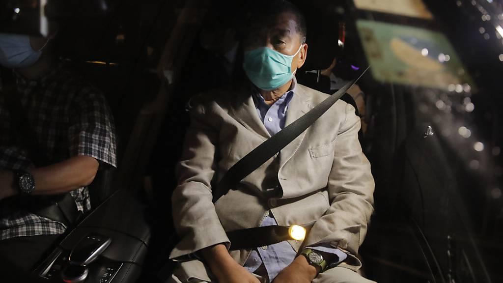 Hongkonger Verleger Jimmy Lai will nach Freilassung weiterkämpfen