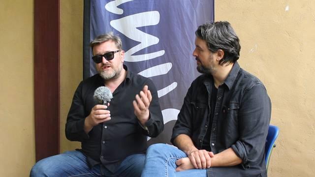 Elbow im Interview vor ihrem Konzert am Stimmen-Festival in Arlesheim
