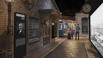 Das Wagi-Museum in Schlieren will in grössere Räume ziehen, um dort ein Eventmuseum aufzubauen. Besucher sollen durch Kulissen wandeln können
