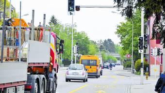 Keine Auswirkungen: Der Unfall auf der Kreuzung Bielstrasse-Wildbachstrasse von Ende April, bei dem eine 18-jährige Frau von einem Lastwagen erfasst und getötet wurde, hat keine Folgen für die Ausbildung der kleinen Velofahrer.