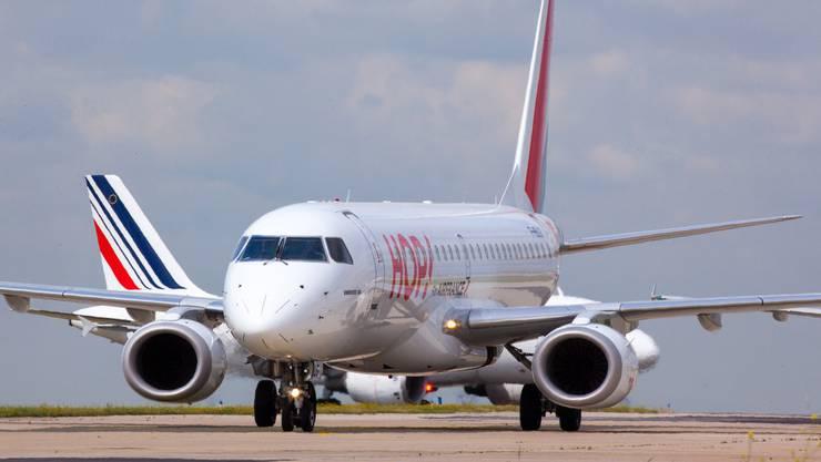 Die neue Linie «Hop» der Air France fliegt mehrmals täglich vom Euro-Airport nach Paris.