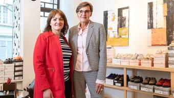 Die neue und die bisherige Geschäftsführerin: Gabriela Martinez (l.) und Gabriela Kräuchi.