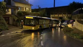 Postauto-Unfall in Rheinfelden