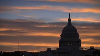 Schwere Wolken über dem Capitol in Washington - nicht nur politisch