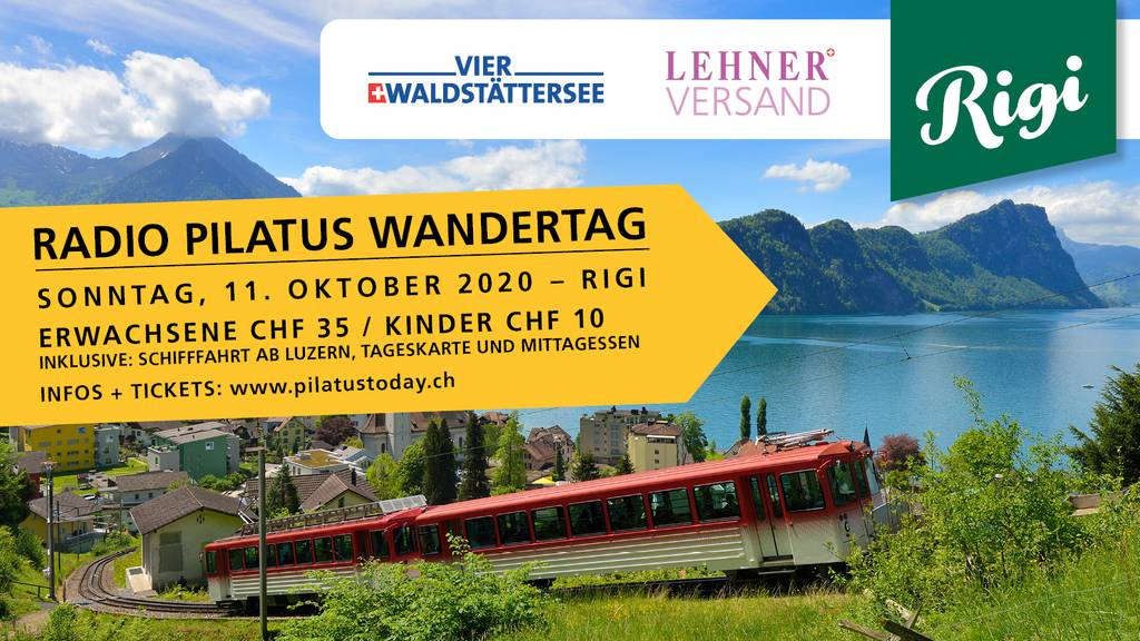 Radio Pilatus Wandertag am 11. Oktober 2020 auf der Rigi