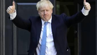 Die konservative Partei von Boris Johnson holte sich bei den Parlamentswahlen die absolute Mehrheit.