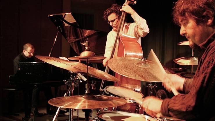 Hier ein Auftritt des Trios Cholet-Känzig-Papaux im Jahr 2009.