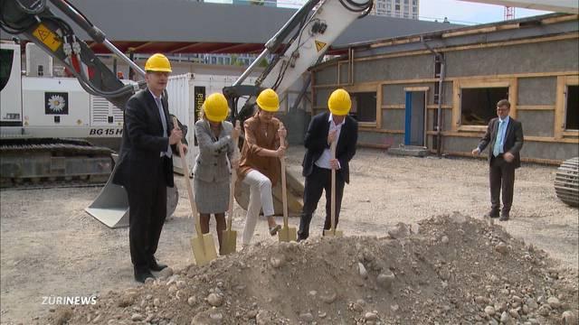 Baustart für Bundesasylzentrum in Zürich-West