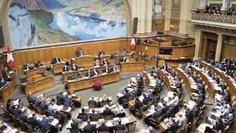 Der Nationalrat hat das Budget 2017 nun doch noch angenommen. (Archivbild)