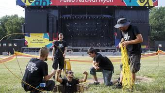 Das Paléo Festival steht in den Startlöchern: Die 44. Ausgabe beginnt mit Twenty Øne Piløts. Bis am Sonntag werden knapp 230'000 Besucher am grössten Openair der Schweiz erwartet.