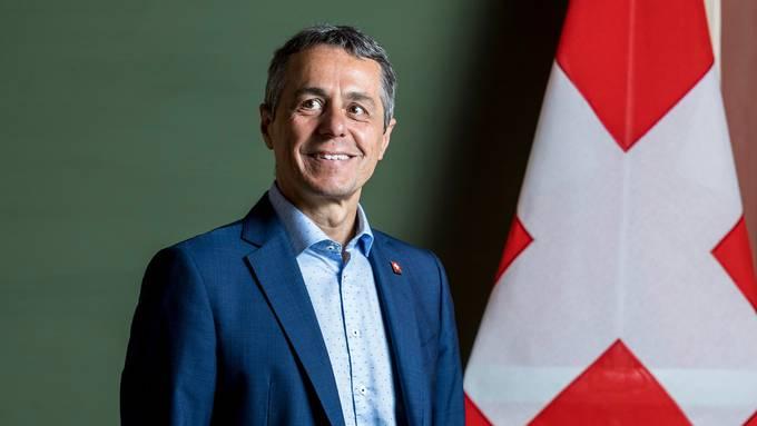 «Die Schweiz ist nicht schlecht dran», sagt FDP-Bundesrat und Aussenminister Ignazio Cassis, 59.