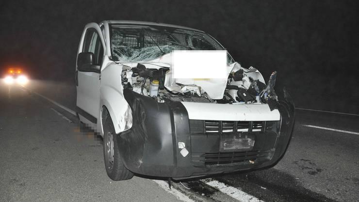 Betrunkener Fahrer verursacht Auffahrunfall.