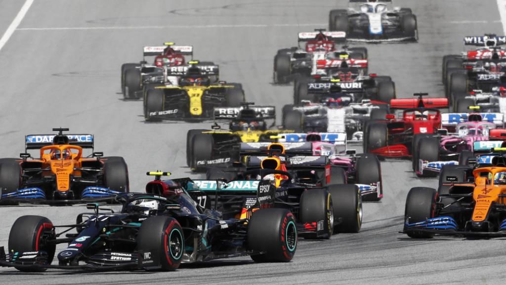 Bei 23 WM-Rennen sollen die Formel-1-Fahrer im Jahr 2021 an den Start