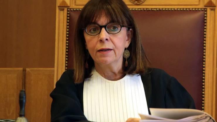 Ekaterini Sakellaropoulou, erstes weibliches Staatsoberhaupt von Griechenland. (Archivbild)