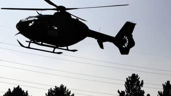 Wie eine Augenzeugin zu 20 Minuten sagt, sei bei der Fahndung auch ein Helikopter zum Einsatz gekommen. (Symbolbild)