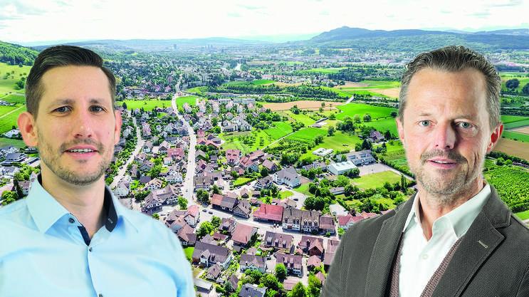 Bei den Wahlen am vergangenen Sonntag erreichten sowohl André Wymann (links) als auch Harry Landis exakt 395 Stimmen.