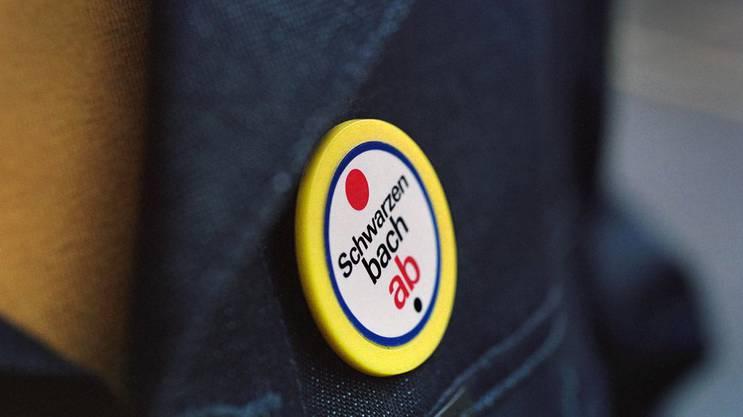 Der Badge gegen die «Schwarzenbach-Initiative»