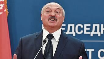 Hält Corona für eine «Psychose»: Alexander Lukaschenko.