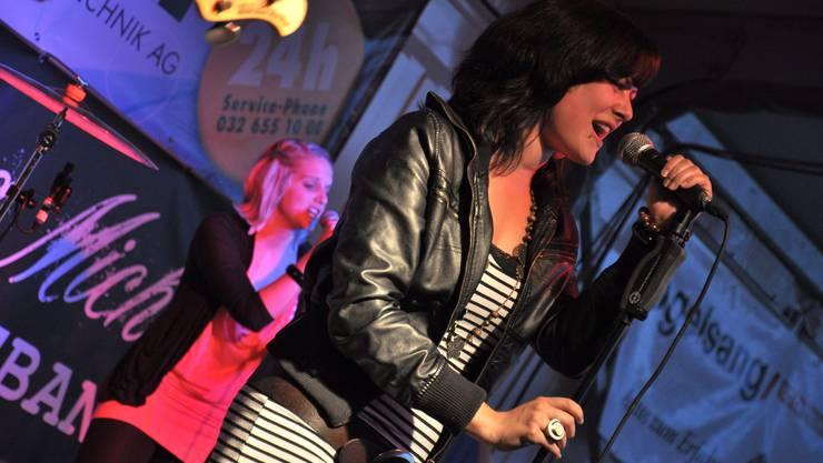 Ex-Musicstar Katharina Michel an der mia in Grenchen.