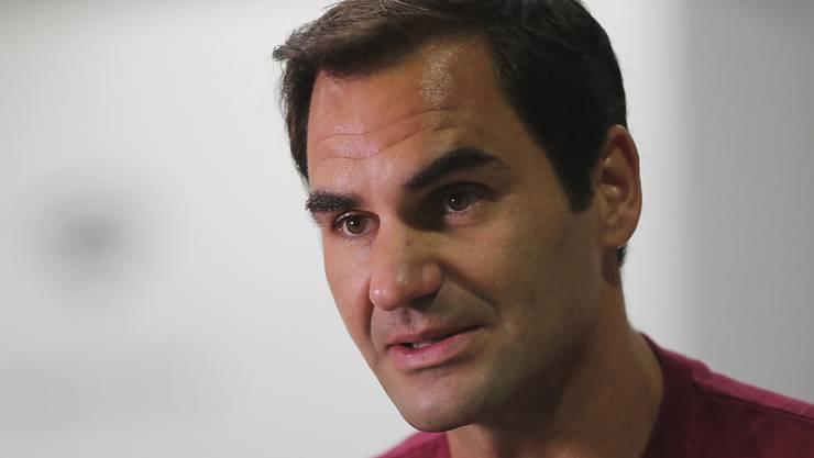 Roger Federer spielt am 15. Januar für einen guten Zweck