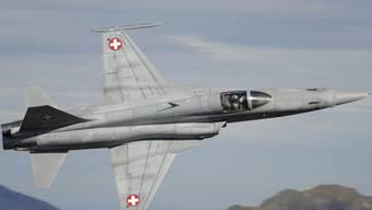 Ein Kampfjet der Schweizer Luftwaffe (Archiv)