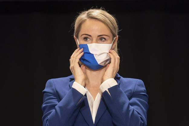 Die Zürcher Gesundheitsdirektorin Natalie Rickli (SVP).