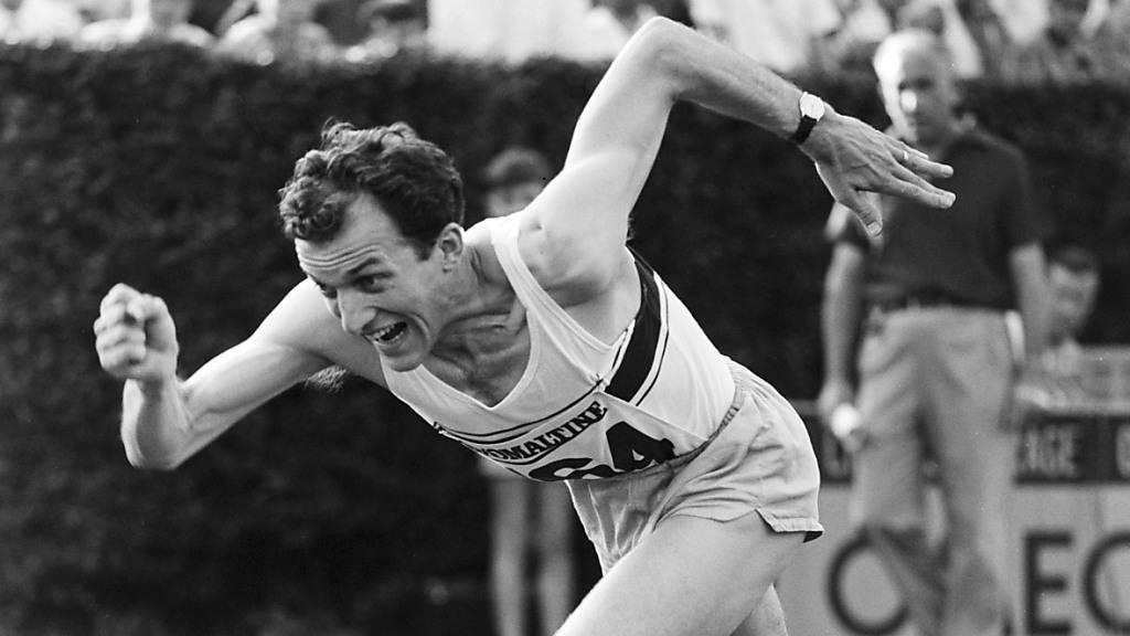 Bruno Galliker feierte als Leichtathlet auch international Erfolge