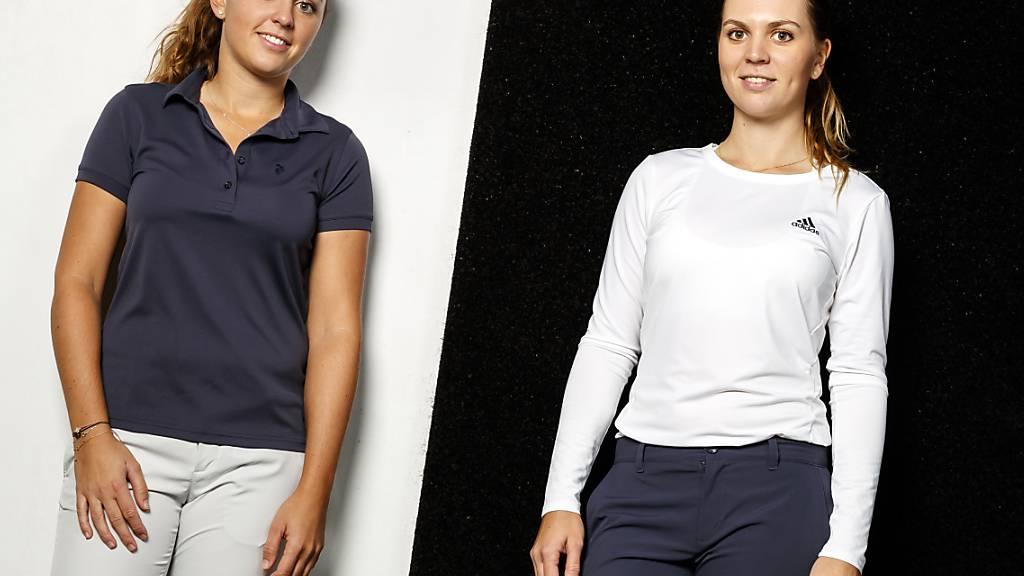 Trümpfe des Schweizer Golfsports: die Schwestern Kim (links) und Morgane Métraux