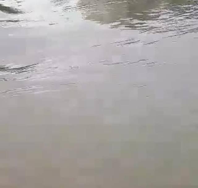 Überschwemmung nach Unwetter in Oftringen