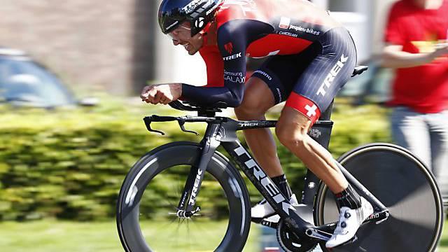 Die besten Fahrer (im Bild Fabian Cancellara) haben 19 Kilometer zu absolvieren. (Archiv)