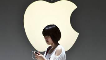Weltweit Nummer Eins:  Apple Store in Shanghai