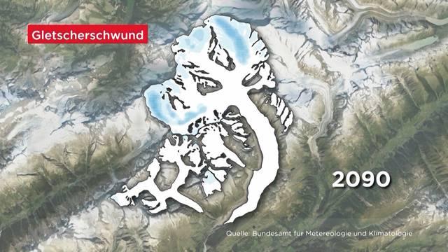 Hitzewelle treibt Gletscherschwund sprunghaft an