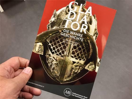 Dürfte ein Höhepunkt im diesjährigen Basler Ausstellungskalender werden: «Die wahre Geschichte der römischen Gladiatoren».