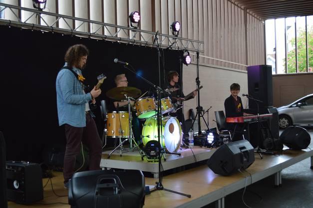 Cheeky Badgers am Charity-Konzert in Aarau