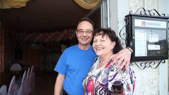 Priska und Jean-Pierre Aeschbach haben die «Waage» übernommen.Ba/az-Archiv