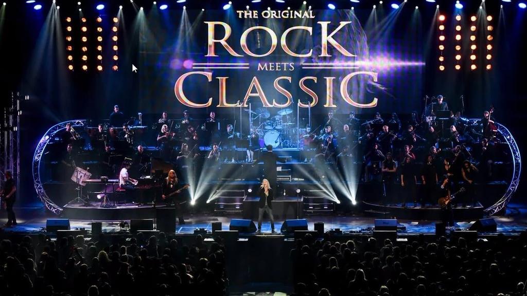 Rock meets Classic - Erlebe die aussergewöhnliche Show!