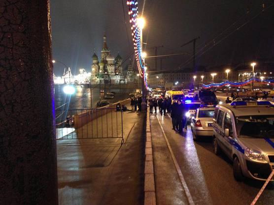 Nahe des Kremls wurde Putin-Kritiker Bors Nemzow mit vier Schüssen getötet.
