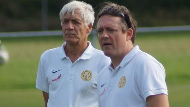 Das Trainerduo Marco Wüst (rechts) und Beat Wüst.