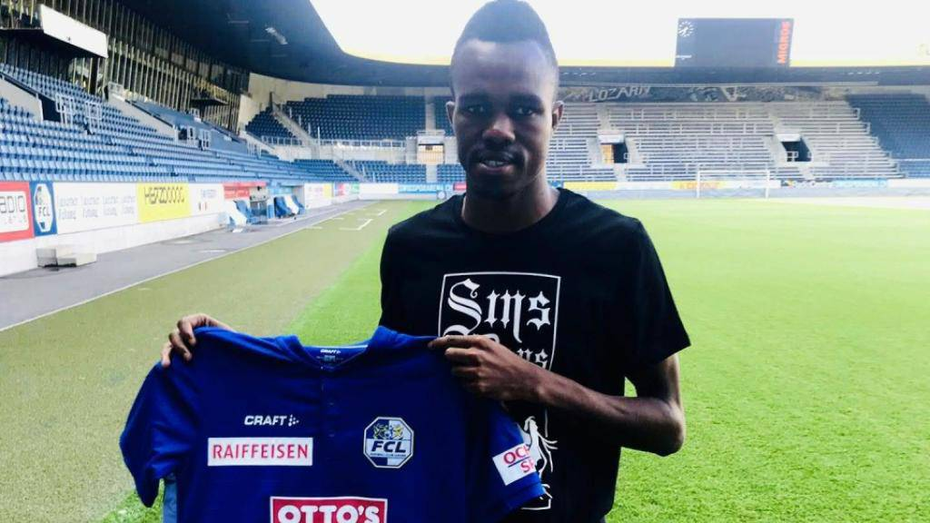 Luzern stellt seinen neuen Flügelflitzer Ibrahima Ndiaye vor