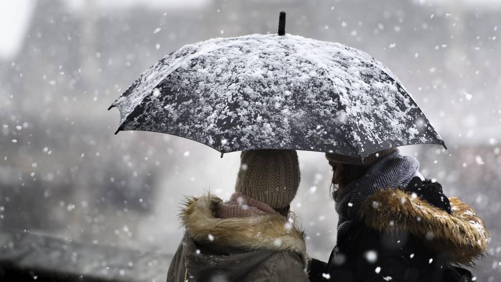 Nach sonnigem November: Am Dienstag kommt der Winter