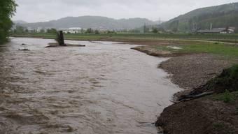 """Die Suhre bei """"kleinem Hochwasser"""" (Archivbild Mai 2015)"""