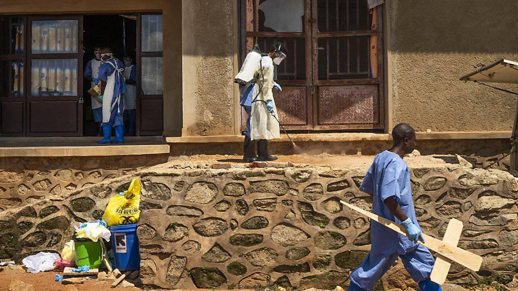 WHO erklärt Gesundheitsnotstand wegen Ebola