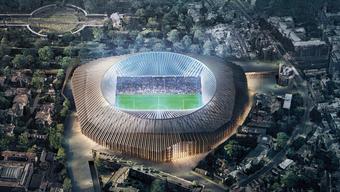 Das von Herzog & de Meuron entworfene Stadion ist einen Schritt weiter zur Realisierung.