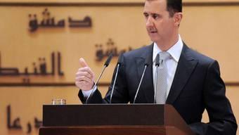 Syriens Machthaber Baschar al-Assad (Archiv)