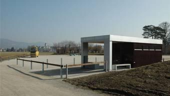 Ähnlich wie hier im Schachen Aarau könnte ein künftiger Durchgangsplatz für Fahrende in Benzenschwil aussehen. MANUEL BÜHLMANN/Archiv
