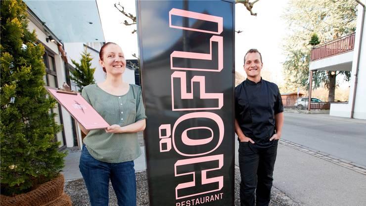 Gastgeberin Ramona Hartung und Küchenchef Marco Rasera wollen Regionalität.