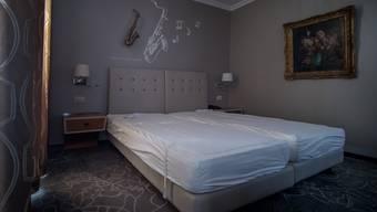 Zahlreiche Hotelbetten blieben im ersten Halbjahr 2020 leer.